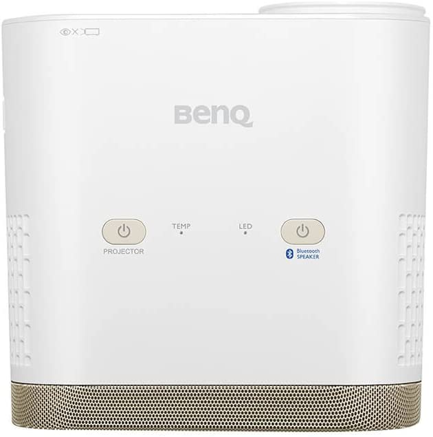 Benq I500 Multimedia Led Projector With Wifi Youtube Vimeo And More Kodi Bluetooth Speakers 5 W X2 80 Mm Short Hdmi Vga Av Tv Usb 1 5 A Power Supply And Usb