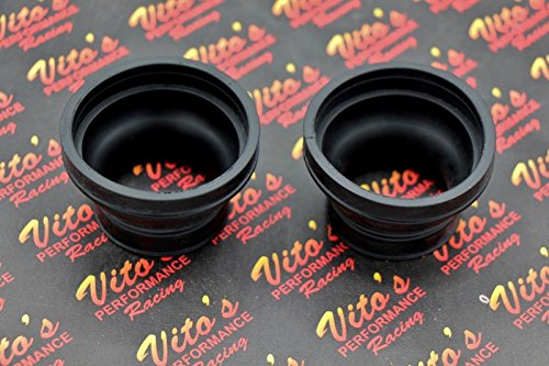 Vito's Performance 2 x New Yamaha Banshee 350 airbox Rubber Boots OEM Factory Stock 1987-2006 by Vito's Performance (Image #2)