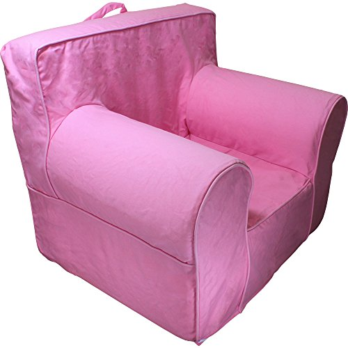 CUB CHAIRS Comfy Small Hot Pink Kid's Chair with Machine Washable Removable (Kids First Chair)