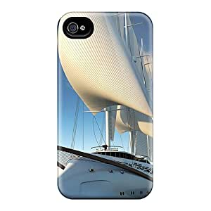 Iphone 4/4s Case Slim [ultra Fit] Luxury Yacht Protective Case Cover
