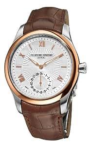 Frederique Constant Men's FC-700MS5MZ9 Maxime Manufacture Automatic Silver Roman Numerals Dial Watch