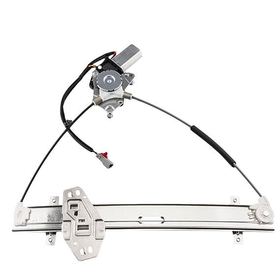 SUNROAD Power Window Lift Regulator /& Motor Front Left Driver Side fit for 2001 2002 2003 2004 2005 Honda Civic 1.7L l4