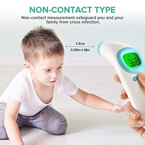 Non Contact Thermometer Gun, Medical Forehead Thermometer with Led Display for Adults and Kids, Same Day Shipping