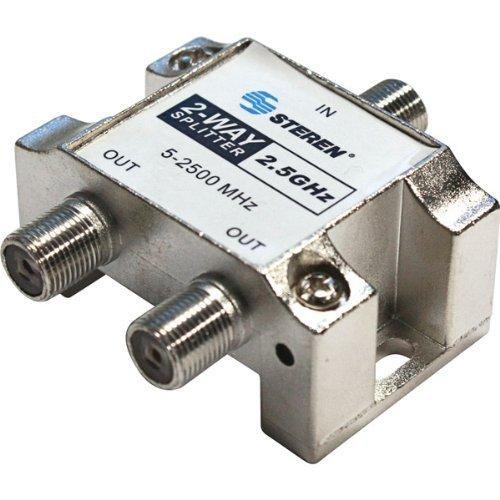 Digital 2-WAY Splitter 2.5 Ghz - Steren 2 Way Splitter