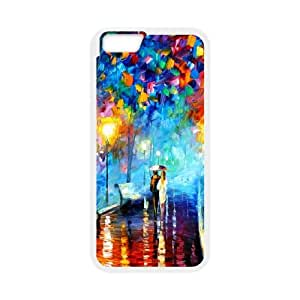 Romantic Couple Walking Painting iPhone 6 4.7 Inch Cell Phone Case White toy pxf005_5894532