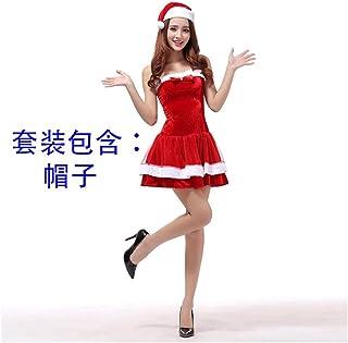SDLRYF Père Noël Costume Costumes De Noël Père Noël Vêtements pour Femmes Adultes Dress Up Show Costumes De Scène