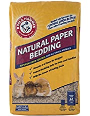 Arm & Hammer for Pets Natural Paper Bedding for Guinea Pigs, Hamsters, Rabbits & All Small Animals-Expandable Paper Bedding for Small Animals-Hamster Bedding, Guinea Pig Bedding, Bedding for Rabbits