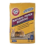 Arm & Hammer Natural Paper Bedding for Guinea Pigs, Hamsters, Rabbits & All Small Animals, 30 Liters