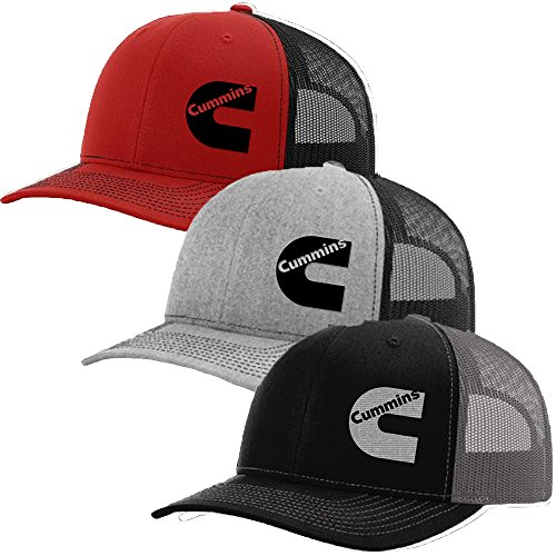 9ac8b030ec0 Cummins Diesel SnapBack Trucker Hats 112 (Red Black) available in ...