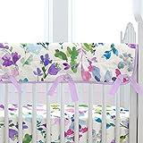 Carousel Designs Wildflower Garden Crib Rail Cover