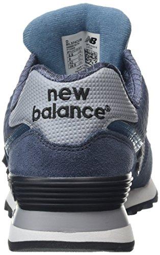 New Balance Herren Ml574cub-574 Laufschuhe Mehrfarbig (Thunder/Multi 161Thunder/Multi 161)