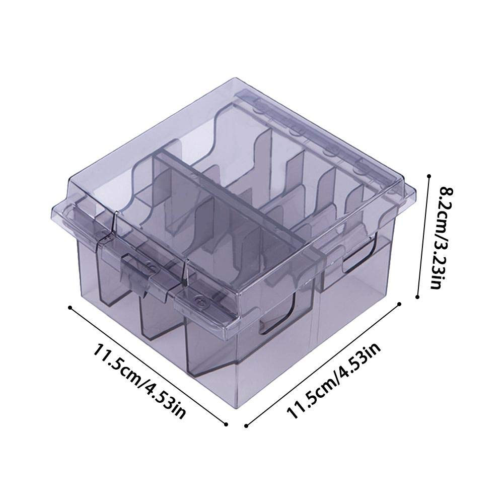 Haircut Grooming Guide Comb Organizer Tool Compartment Storage Box Holder Removable Replacement