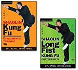 Bundle: Shaolin Kung Fu DVDs (YMAA) Kung Fu Fundamental Training and Longfist Sequences by Dr. Yang, Jwing-Ming