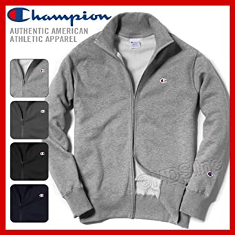 baa7fc3d34ab Amazon | (チャンピオン)Champion メンズ 長袖 裏起毛 スタンドカラー スウェット フルジップ ジャケット スウェットシャツ「C3-A029」  XXL ネイビー(370) | コート・ ...
