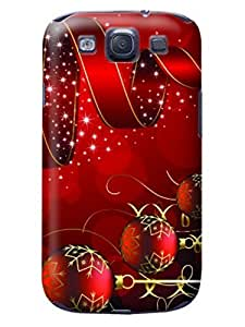 2017 Merry Christmas New fashionable TPU Designed for Samsung Galaxy s3 Hard Case Cover