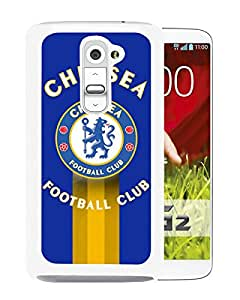 Fashion And Antiskid Cover Case For LG G2 With Chelsea White Phone Case 12