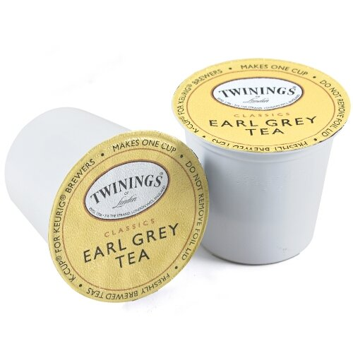 Twinings Earl Grey 24 K-Cups, Pack of 2