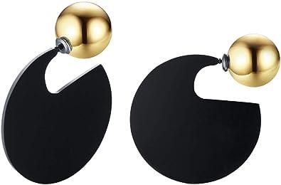ball earrings clip on earrings ear cuffs dangle earrings earring jackets hoop earrings stud earrings Unsymmetrical earring fashion ladys Earrings