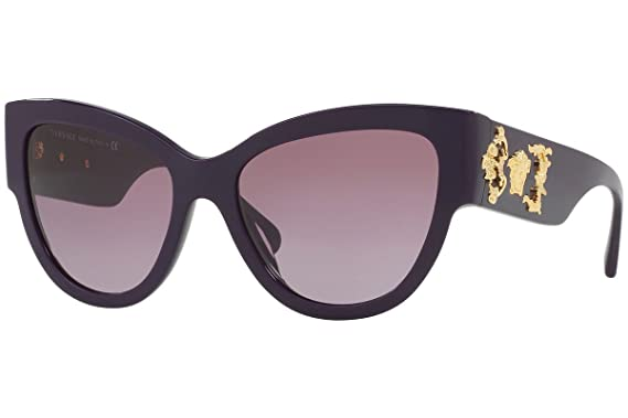 49941a89685e2 Image Unavailable. Image not available for. Color  Versace VE4322 Sunglasses  Violet ...