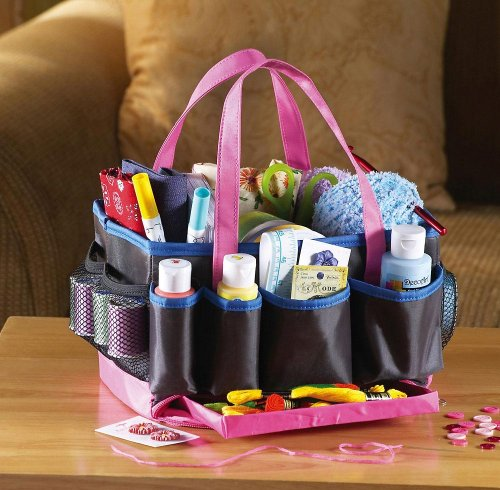13 Compartment Crafts Storage Tote By Collections Etc