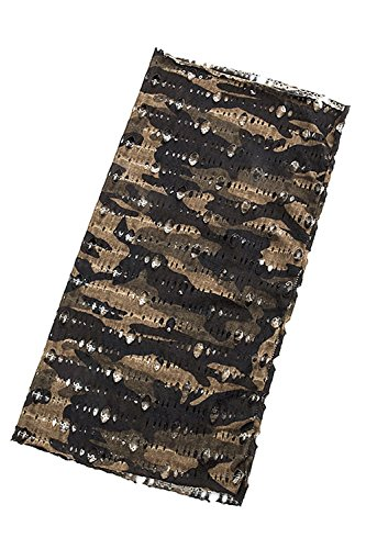 KARMAS CANVAS MILITARY PRINT HEADWRAP NECKWRAP (Olive) - Headwrap Olive