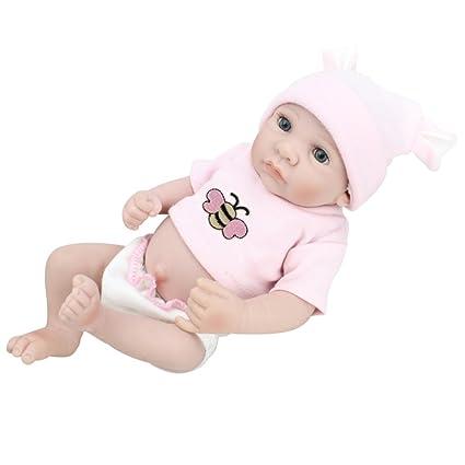 YIHANGG Recién Nacido Bebé Completo De Silicona Simulación Bebé ...