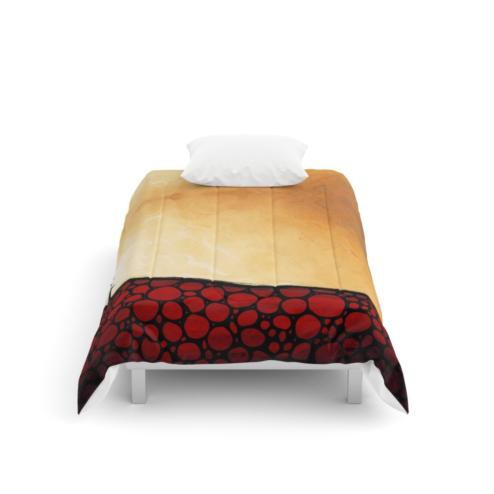Society6 Forgiven - Christian Art By Sharon Cummings Comforters Twin XL: 68'' x 92'' by Society6