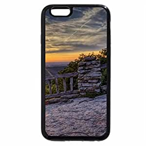 iPhone 6S / iPhone 6 Case (Black) wondrous coopers rock forest in w. viginia hdr