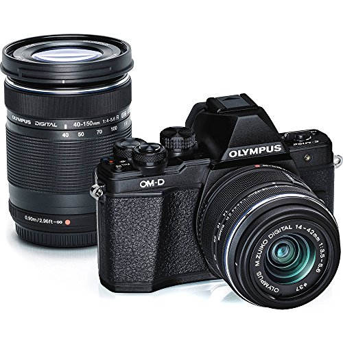 olympus-om-d-e-m10-mark-ii-mirrorless-micro-4-3-digital-camera-with-14-42mm-and-40-150mm-lenses-blac