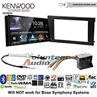 Volunteer Audio Kenwood DDX9904S Double Din Radio Install Kit with Apple CarPlay Android Auto Bluetooth Fits 2002-2008 Audi A6