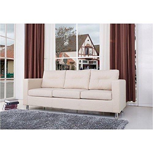 Brika Home Fabric Sofa in Beige