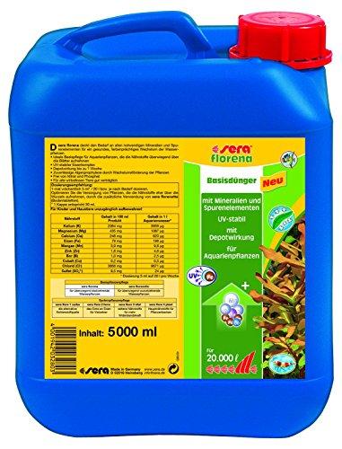 Sera Florena 5, 000 ml, 1.3 US gallon Aquarium - 1.3 Us Gallons