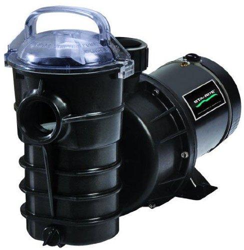 Pentair Sta-Rite 347970SR Dynamo Single Speed Aboveground Pool Pump with 3-Feet Twist Lock Cord, 1-1/2 HP, 115-Volt