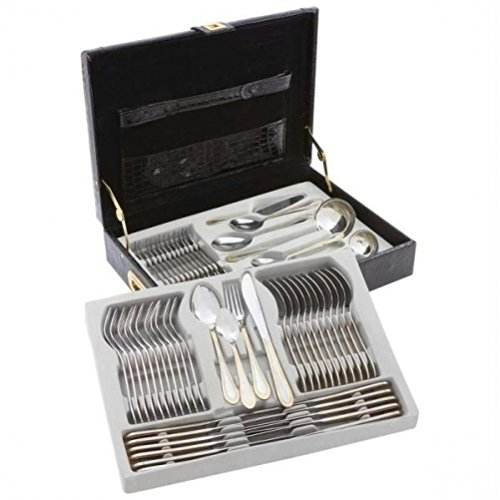 Sterlingcraft® 72pc High-Quality, Heavy-Gauge Stainless Ste