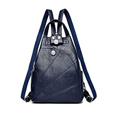 Specification: Gender: Women  Material: PU leather  Size: Approx.11*5.9*12.6 inches (L*W*H)  Color: Burgundy, Black, Blue, Bronze, Purple  Handle/Strap Type: Soft Handle  Capacity: Can hold phone, wallets, cosmetics, etc Feature&Details: ...