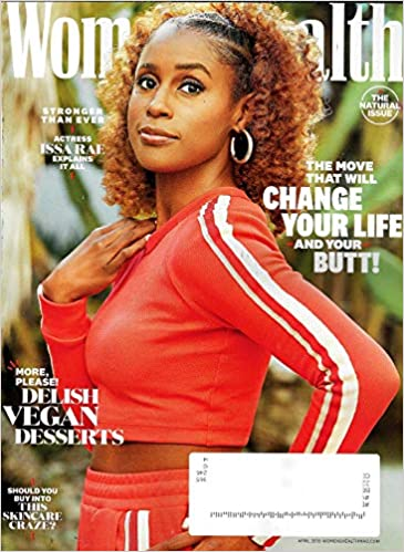 Womens Health Magazine April 2019 Issa Rae Cover The Natural Issue