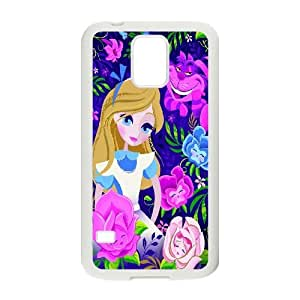 High Quality -ChenDong PHONE CASE- For Samsung Galaxy S5 -Cheshire Cat & Alice in Wonderland-UNIQUE-DESIGH 13