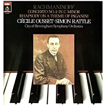 Rachmaninoff: Concerto No 2; Rhapsody on a Theme by Paganini [Vinyl LP]