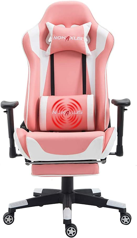 Amazon.com: Nokaxus silla de oficina para juegos de tamaño ...