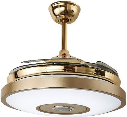 Ventilador De Techo con Luz Y Mando A Distancia Lámpara del Techo ...