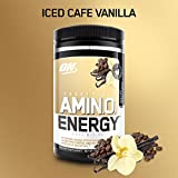 Optimum Nutrition Amino Energy, Café Vainilla, 300 gr
