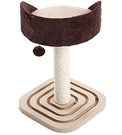 Amazon.com : Árbol Gato con Sisal Publicar Scratcher Muebles Mascotas Muebles Cama : Pet Supplies