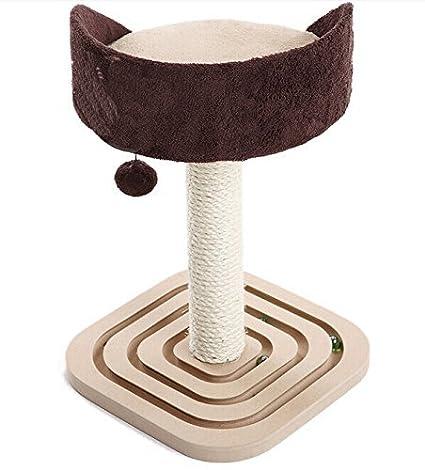 Amazon.com : Árbol Gato con Sisal Publicar Scratcher Muebles Mascotas Muebles Cama : Pet Supplies