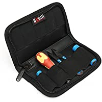 Portable BUBM 9 Pcs Storage Case Bag For Battery Cable USB Flash Drive