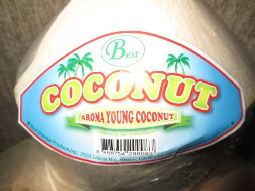 9 ''Best'' Fresh Young Aroma Coconuts