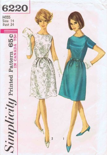 Buy bell sleeve dress sewing pattern - 8