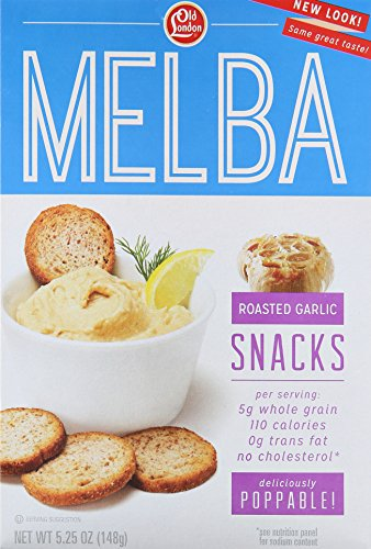 (Old London Melba Snacks, Roasted Garlic, 5.25 Ounce (Pack of 12))