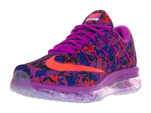 Nike azul Vlt Print Scarpe blk Blu Donna 2016 Wmns Crmsn cncrd Air Ttl hypr Running Max rnwgPRqxr