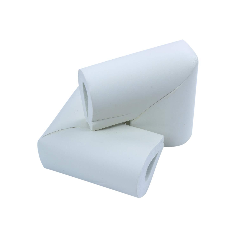 Cikuso 12 pcs Securite Table Bebe Bord Corners Coussin Protection de lenfance Verre Gardien Pare-chocs Blanc