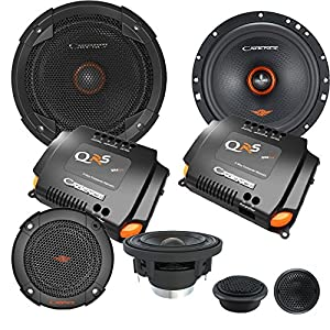 "Cadence QRS6K3 500W 6.5"" 3-Way QRS Series Component Car Speakers"
